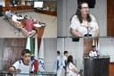 """37ª REUNIÃO ORDINÁRIA TEM PARTICIPAÇÃO DE  ALUNOS DO """"PROJETO CIDADÃO MIRIM"""""""