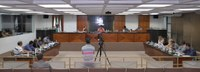 Câmara Municipal realizou a 8ª Reunião Ordinária