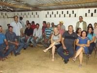 COMUNIDADE DE CÓRREGO DO AÇUDE RECEBE O PROJETO CÂMARA NAS COMUNIDADES