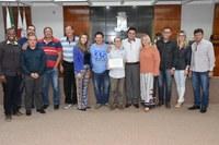 DURANTE A 16ª REUNIÃO ORDINÁRIA PROJETOS FORAM APROVADOS E VÁRIOS ASSUNTOS ABORDADOS NO GRANDE EXPEDIENTE