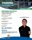 Reforma Política é tema de encontro da Câmara Municipal