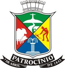 Brasão do Município de Patrocínio M.G. — Câmara Municipal de Patrocínio